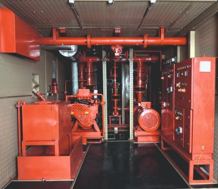 Kirloskar Three Phase Containerised Fire Pumpset