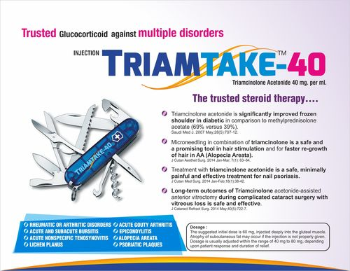 Triamcinolone Acetonide 40 mg per ml
