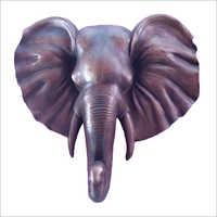 Elephant Face Decor