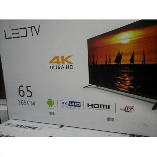 165cm 4K Ultra HD LED TV
