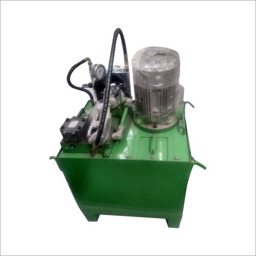 Semi Automatic Hydraulic Power Pack