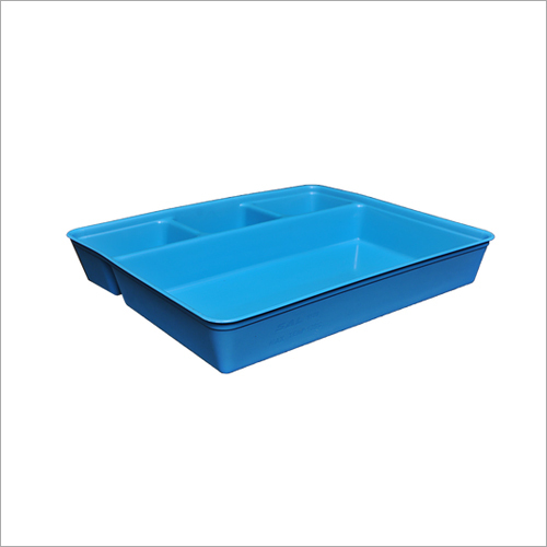 4 Compartments Opd Tray