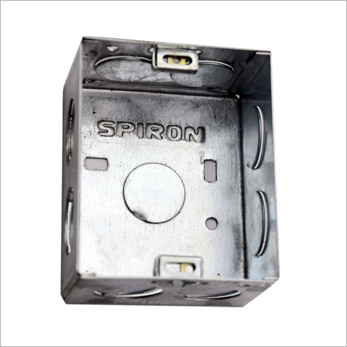 Stainless Steel GI Concealed Modular Box