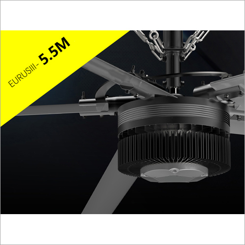 5.5 Mtr Industrial Fans For Warehouses