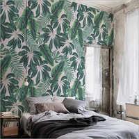 Designer Leaf Wall Paper