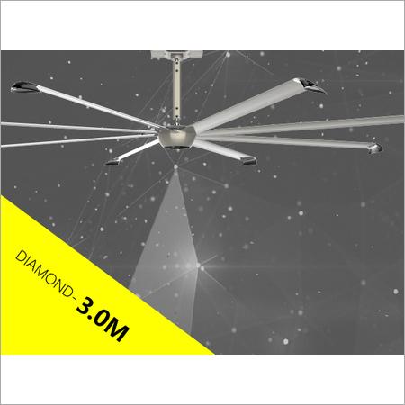 3 Mtr Long Blade Ceiling Fan