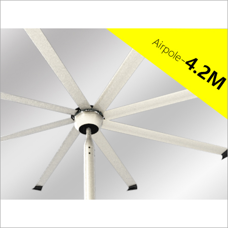 4.2 Mtr Airpole Fan