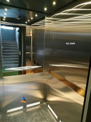 Stainless Steel Goods Cum Passenger Lift