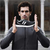 Mens Sports Black Shoes