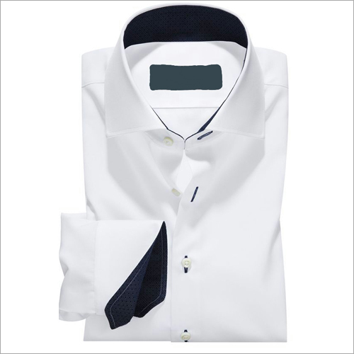 Cotton Plain White Shirt
