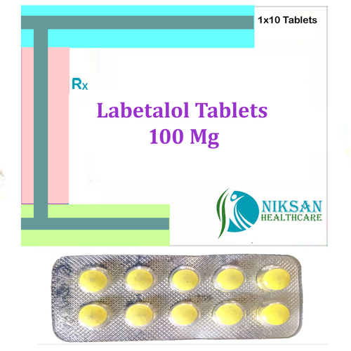 Labetalol 100 Mg Tablets