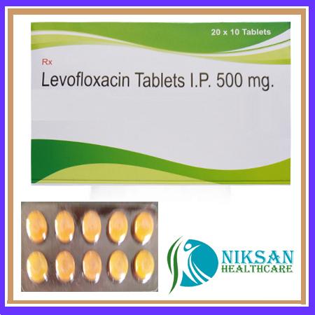 Levofloxacin 250 Mg Tablets