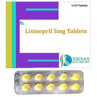 Lisinopril 5 Mg Tablets
