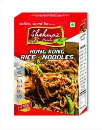 Hongkong Rice Noodels Masala