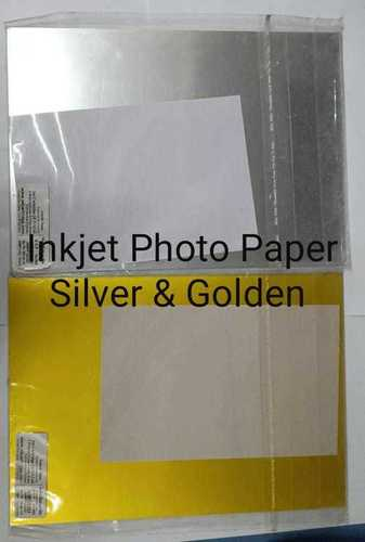 Digital Golden And Silver Inkjet Paper