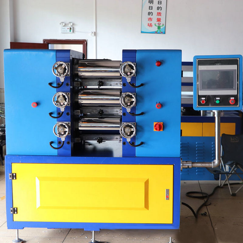 3 Roller Rubber Mixing Mills Machine