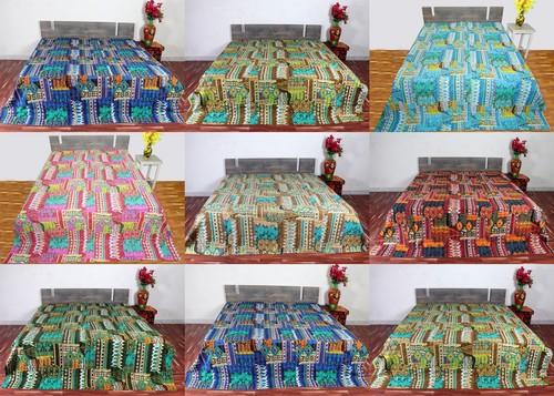 Zigzag Ekat Design Bedsheet