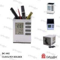 DIGITAL CLOCK WITH PEN HOLDER