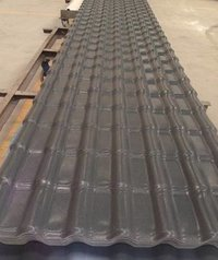 ASA Synthetic Deep Grey Resin Roofing Sheet