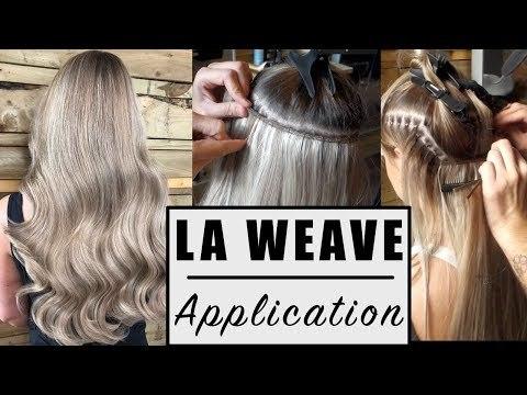 Weft Weaving Hair