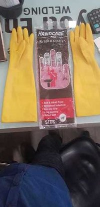 Handcare Rubber Gloves