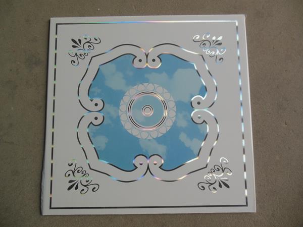 False ceiling material PVC tiles