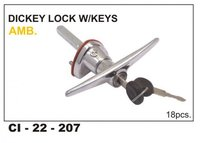 HM AMB. -  DICKY LOCKING HANDLE, -  BHRAT/ASH/CI