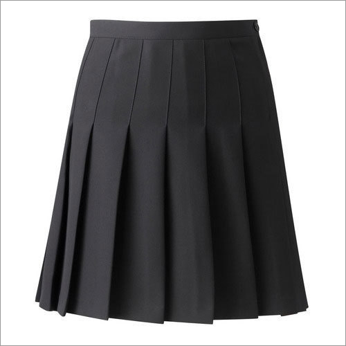 Girls School Pleated Skirt