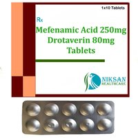 Mefenamic Acid 250Mg Drotaverin 80Mg Tablets