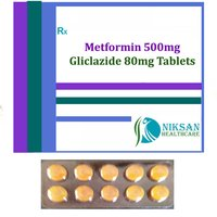 Metformin 500Mg Gliclazide 80Mg Tablets