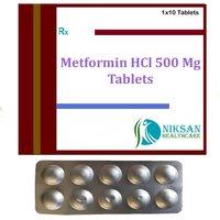 Metformin Hcl 500 Mg Tablets