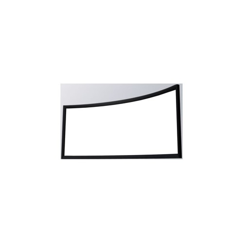 C-Lite HD Matte White Curved Fixed Frame Screen 16:9 84