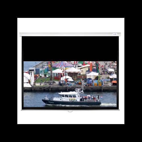 C-Lite Matte White Slow Retraction Screen 4:3 100