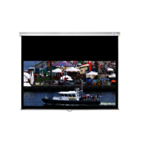 C-Lite Matte White Slow Retraction Screen 4:3 84