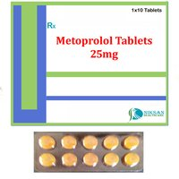 Metoprolol 25Mg Tablets