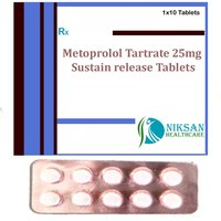 Metoprolol Tartrate 25Mg Sustain Release Tablets