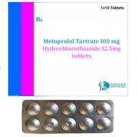 Metoprolol Tartrate Hydrochlorothiazide Tablets