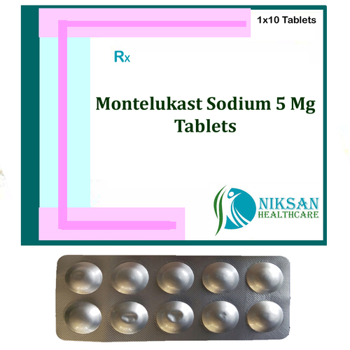Montelukast Sodium 5 Mg Tablets