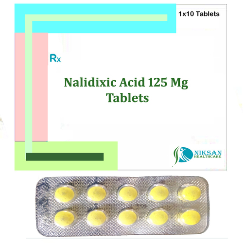Nalidixic Acid 125 Mg Tablets