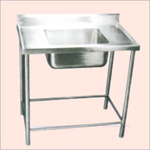 Sink With Platform & Cabinet