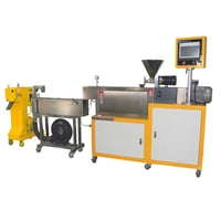 Laboratory Twin-Screw Pipe Extruder