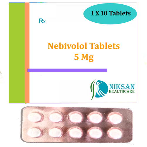 Nebivolol 5 Mg Tablets