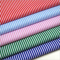 Stripe Print Cotton Fabric