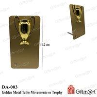 Golden Metal Trophy