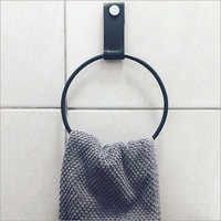 Leather Towel Holder