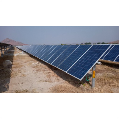 Ground Mounted Solar Panel Structure