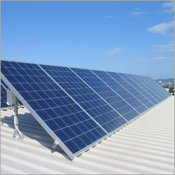 Terrace Mounted Solar Panel Structure