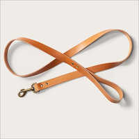 Brown Leather Dog Lead
