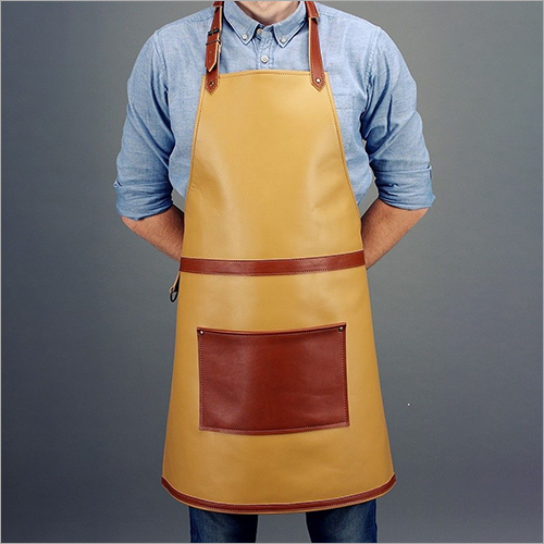 Leather Kitchen Apron
