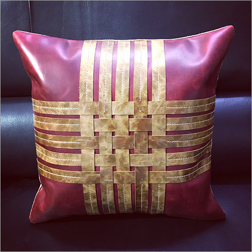 Pure Leather Cushion Cover